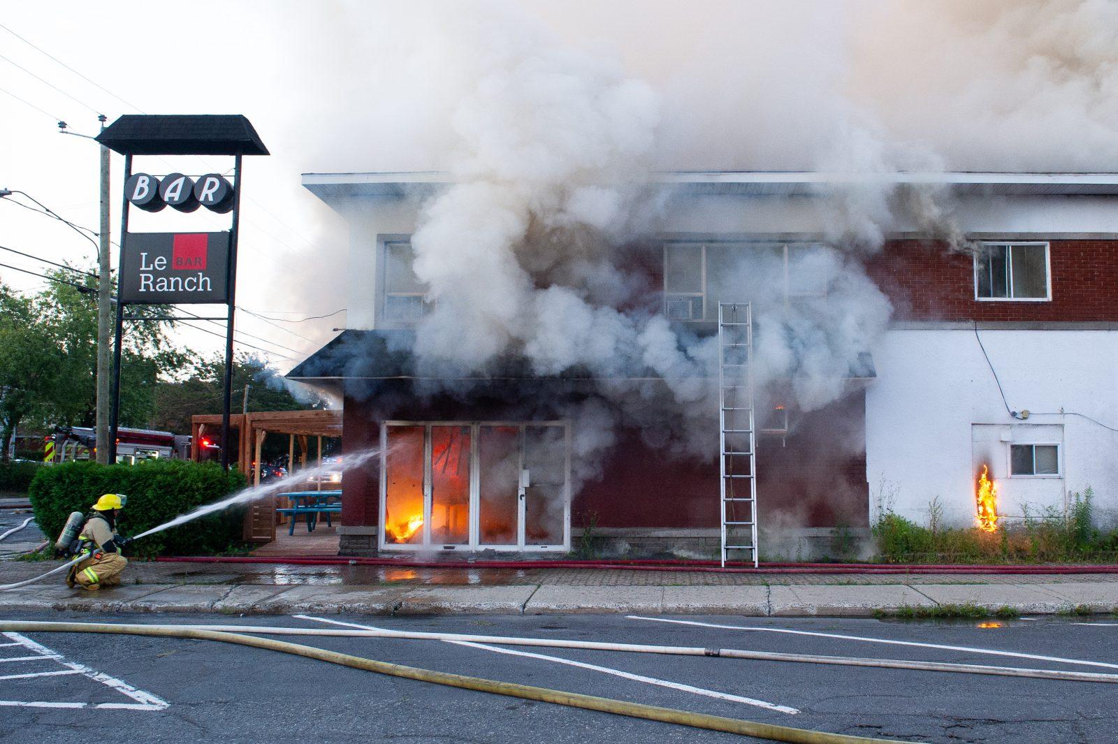 Un trouble électrique pourrait avoir causé l'incendie du boulevard Mercure