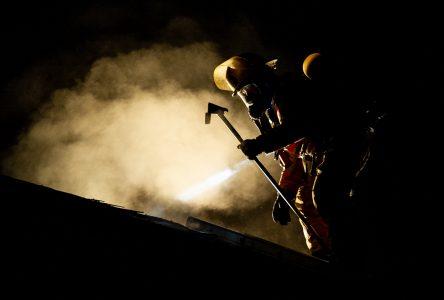 Incendie dans un quadruplex