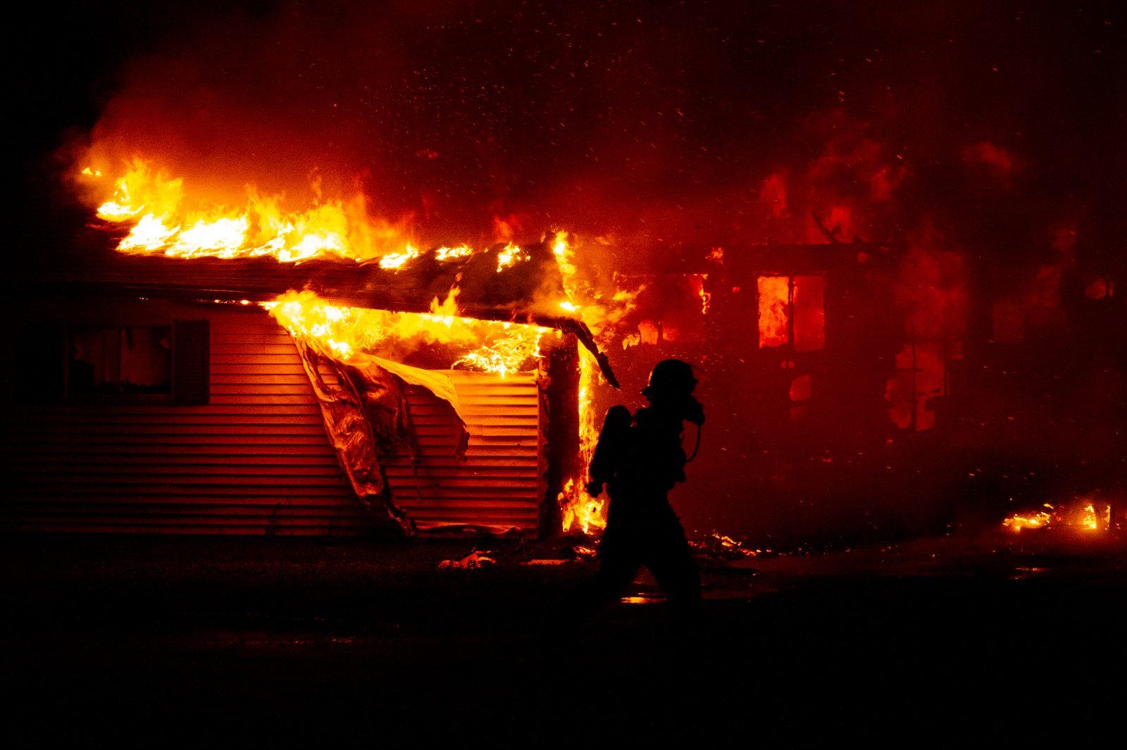 Une maison de Saint-Guillaume ravagée par les flammes