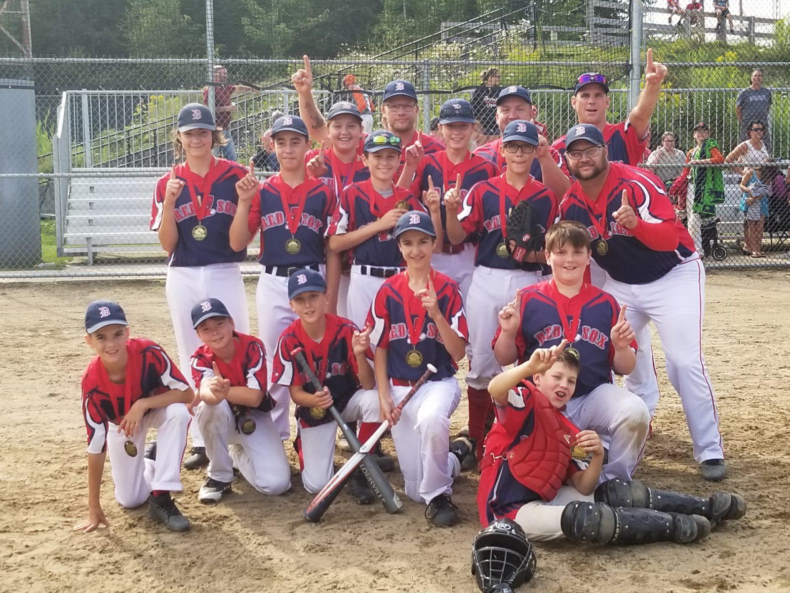 Les Red Sox champions régionaux