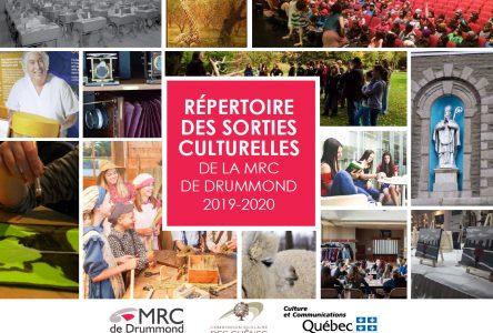 La MRC actualise son répertoire des sorties culturelles