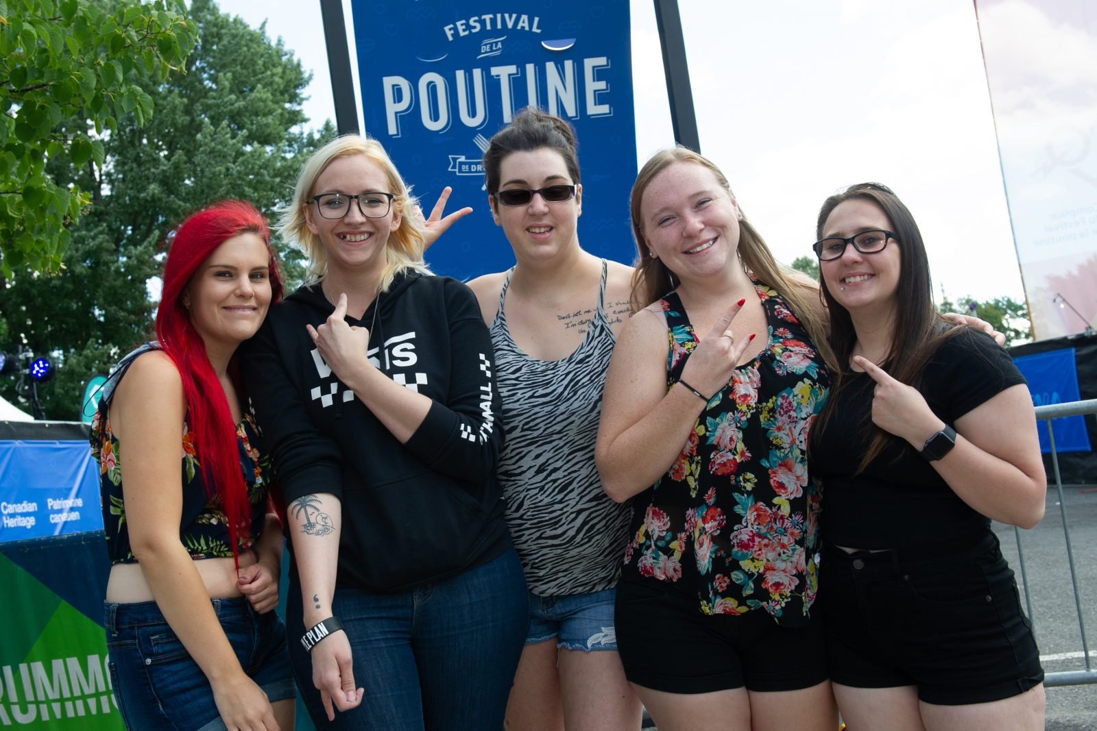 Des fans de partout au Québec pour Simple Plan