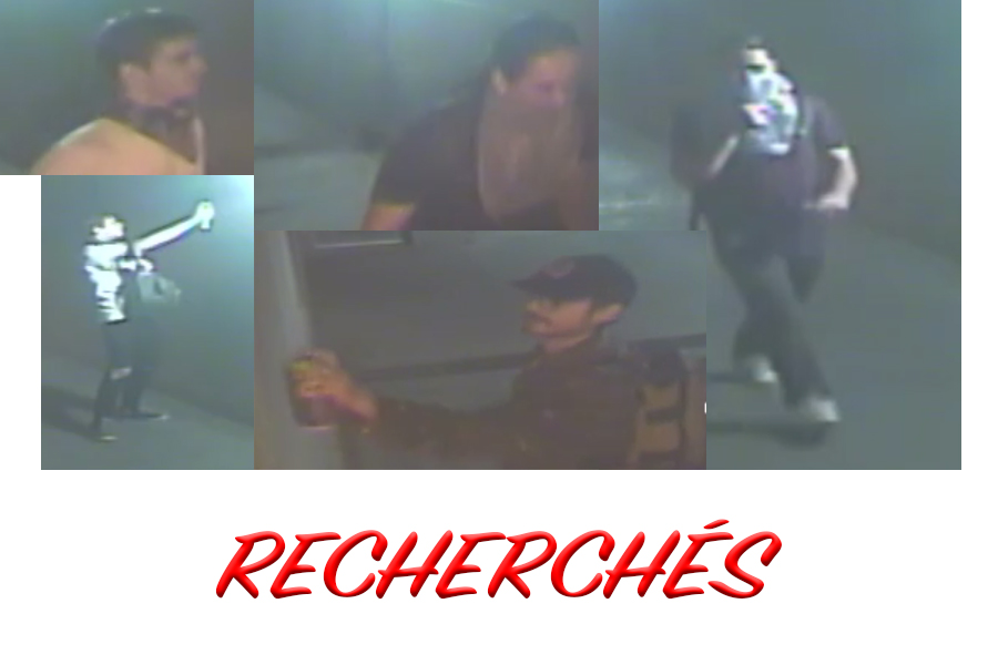 Suspects recherchés pour méfaits à Drummondville