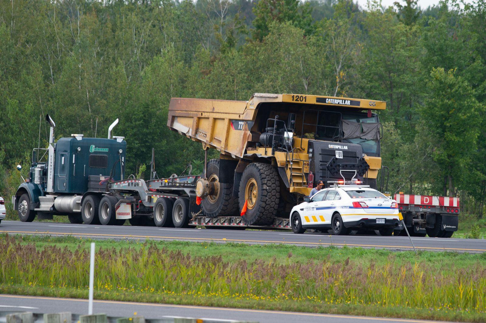 Démolition du viaduc surplombant l'A-20 à Bon-Conseil (mise à jour)