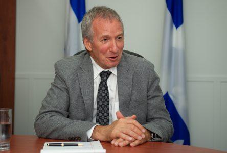 Le ministre André Lamontagne : une deuxième année sous le signe de l'enthousiasme