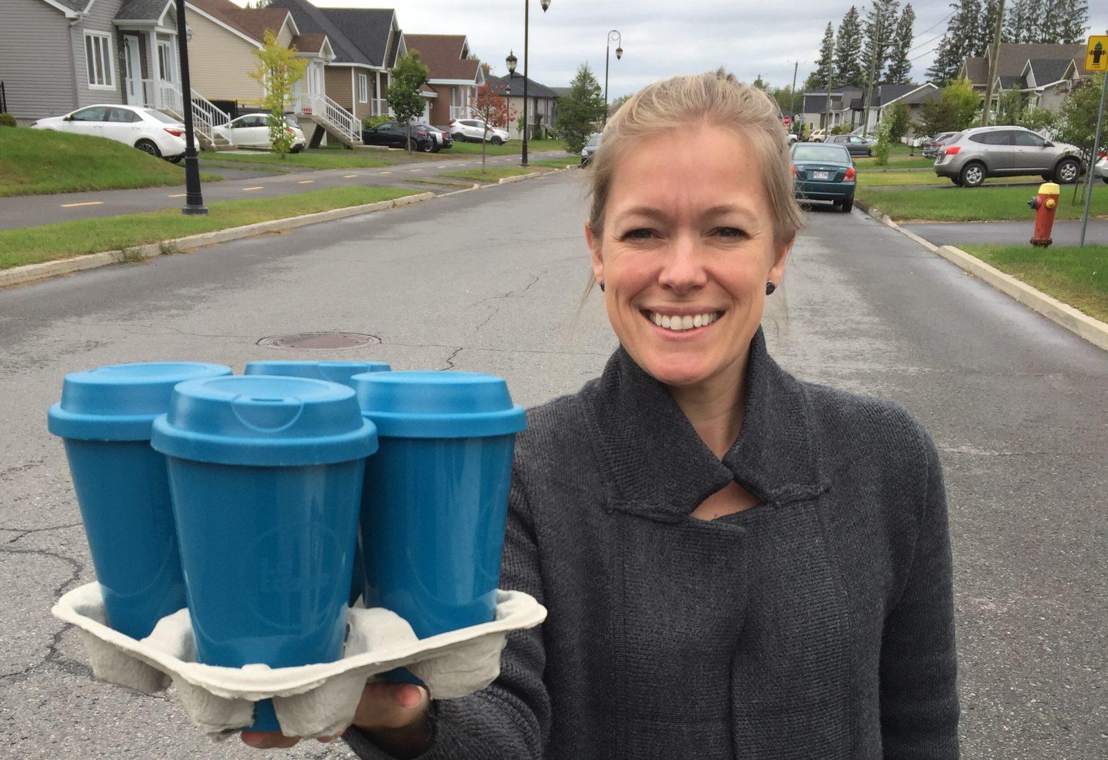 Une campagne verte pour Jessica Ebacher