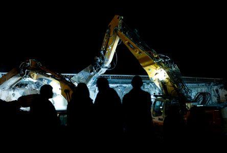 Les monstres mécaniques à l'ouvrage (photos et vidéo)