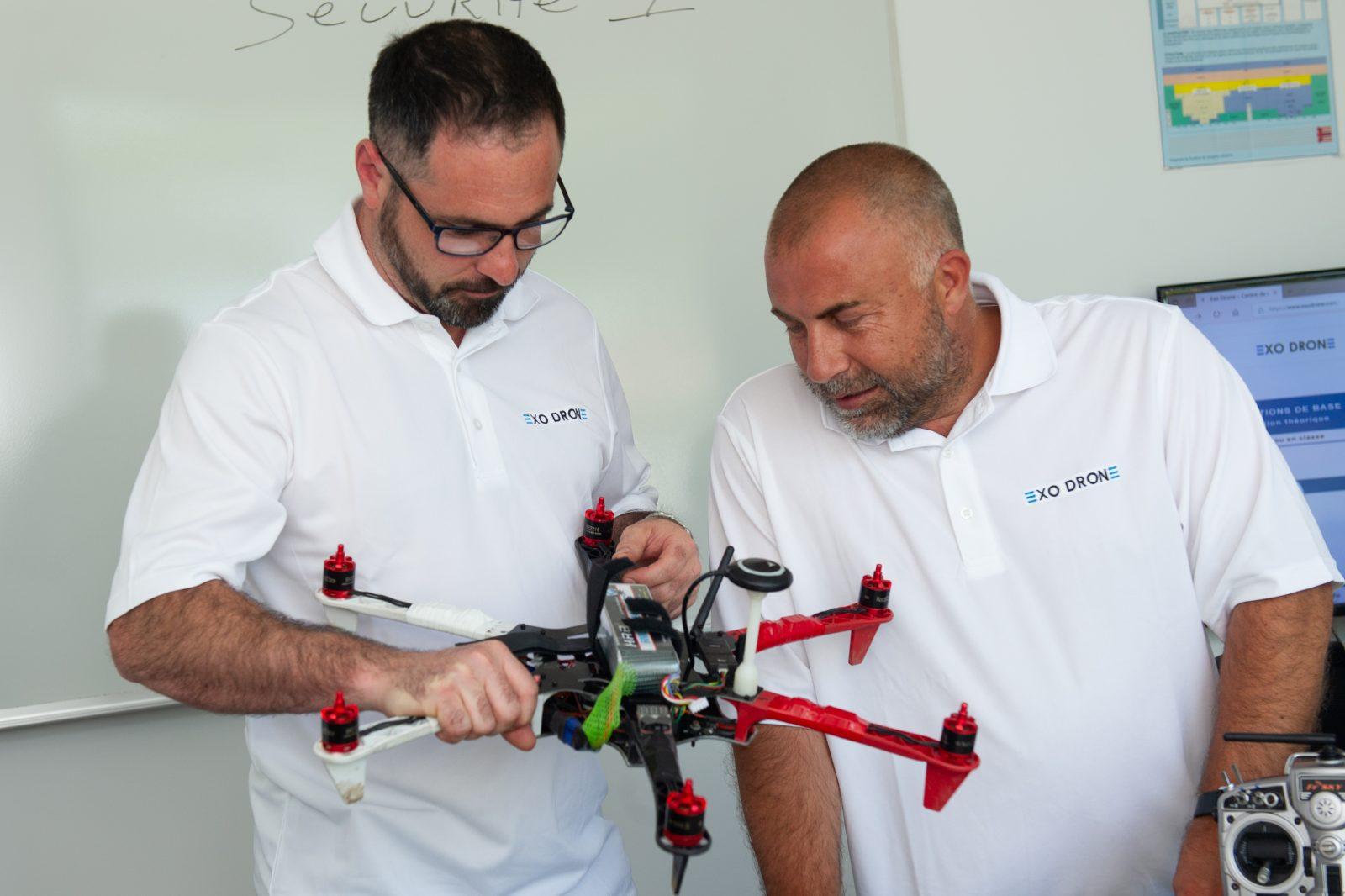 «Un drone, ce n'est pas un jouet» – Daniel Gervais, instructeur