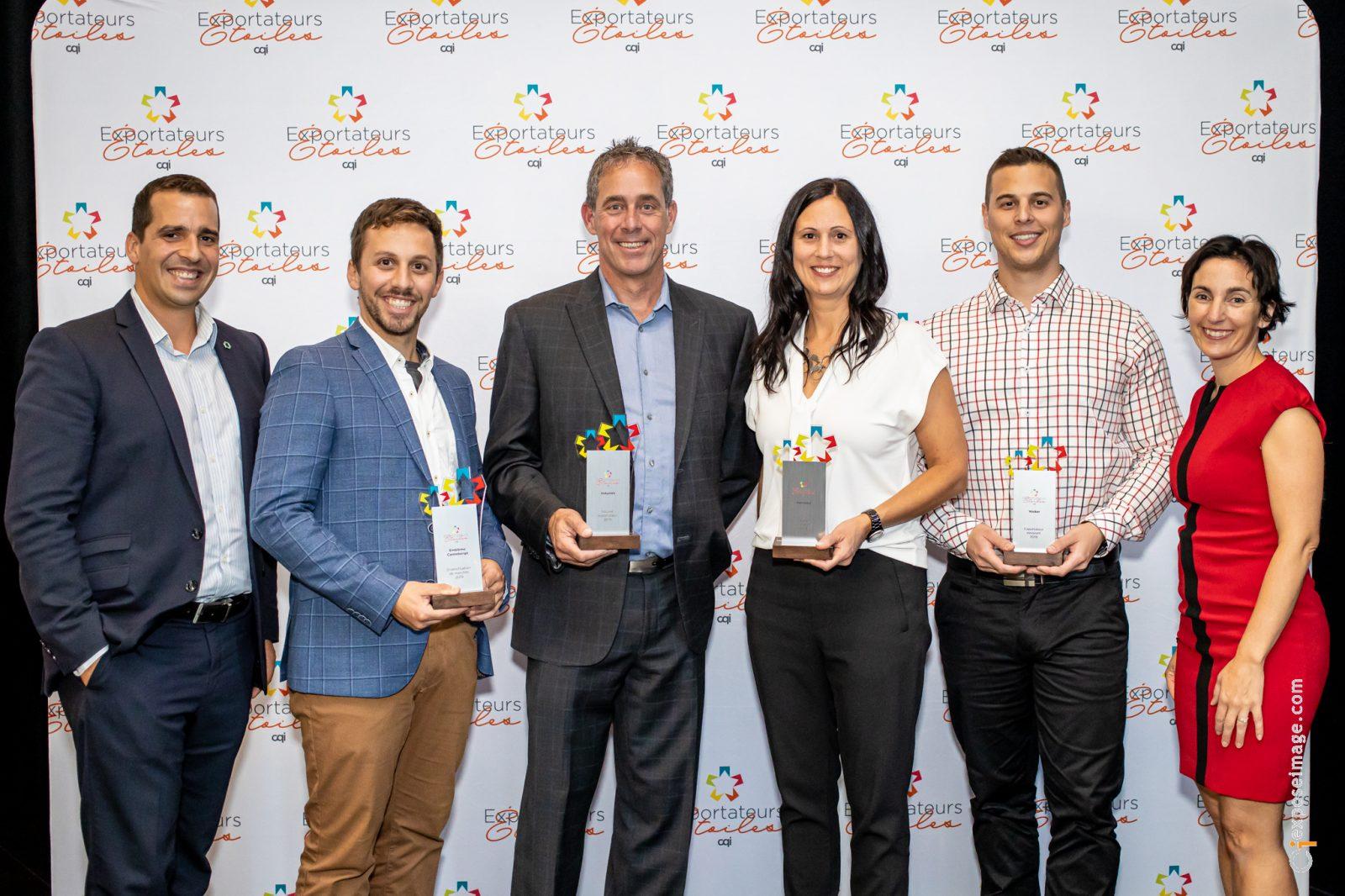 Quatre lauréats centricois honorés aux Exportateurs Étoiles