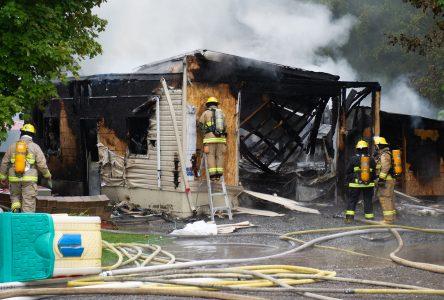 Un garage incendié deux fois en trois jours