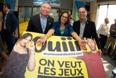 Drummond se mobilise pour accueillir les Jeux en 2022