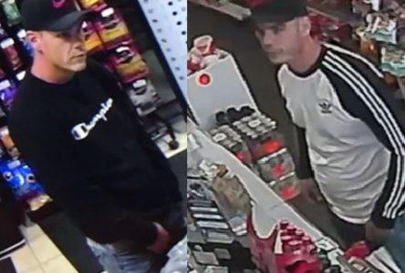 La Sûreté du Québec recherche un suspect pour vols