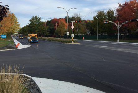 Le boulevard Saint-Joseph est rouvert