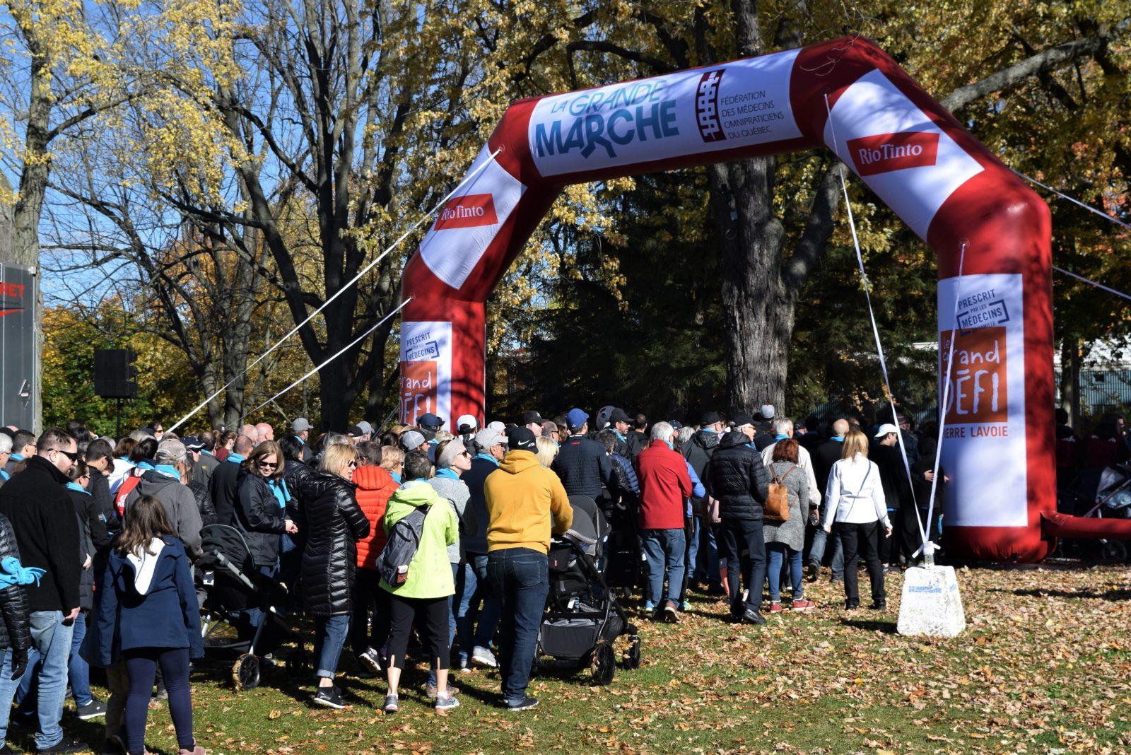 Une Grande marche plus que rassembleuse à Drummondville