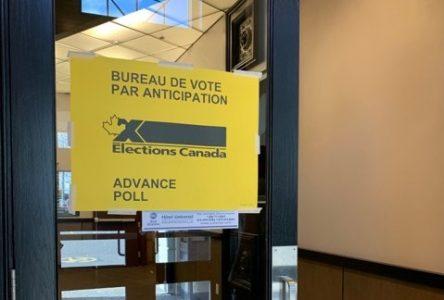 Début du vote par anticipation dans Drummond