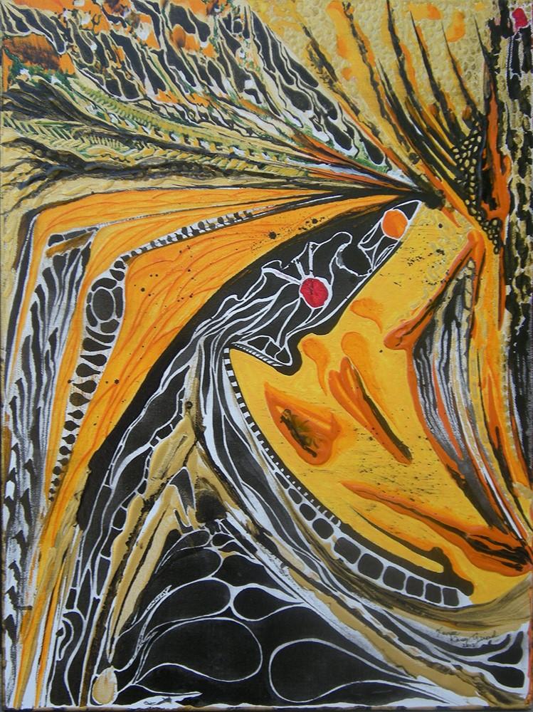 Les œuvres de Xavier Dany Girard en exposition à la Galerie mp tresart