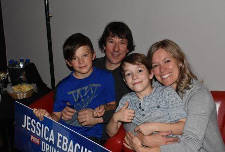 Malgré la défaite, Jessica Ebacher garde le sourire