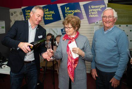 Le bloquiste Martin Champoux est élu