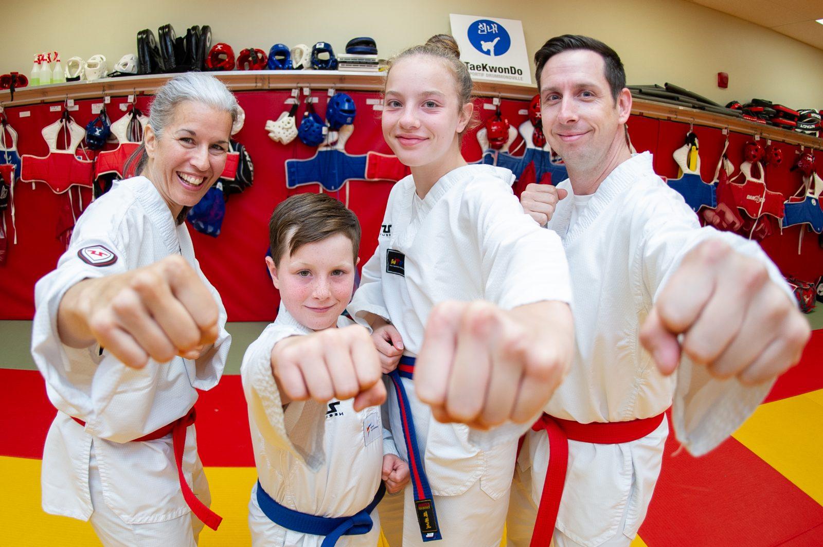 Le taekwondo, une philosophie de vie