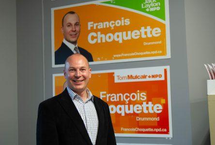 François Choquette confiant que Drummond demeurera orange
