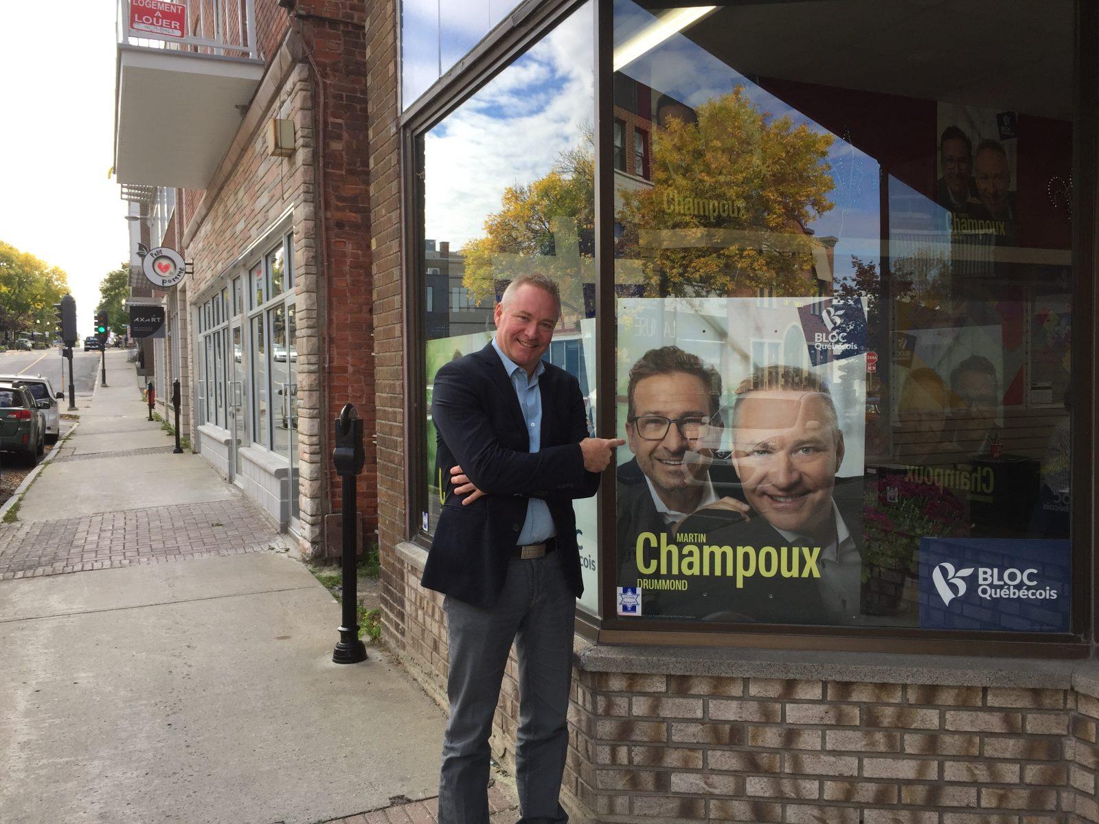 Pour Martin Champoux, l'équilibre travail-famille-politique avant tout