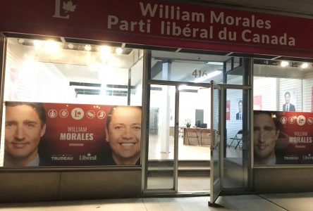 William Morales toujours sur le terrain