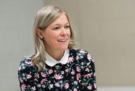 Jessica Ebacher fière de sa campagne