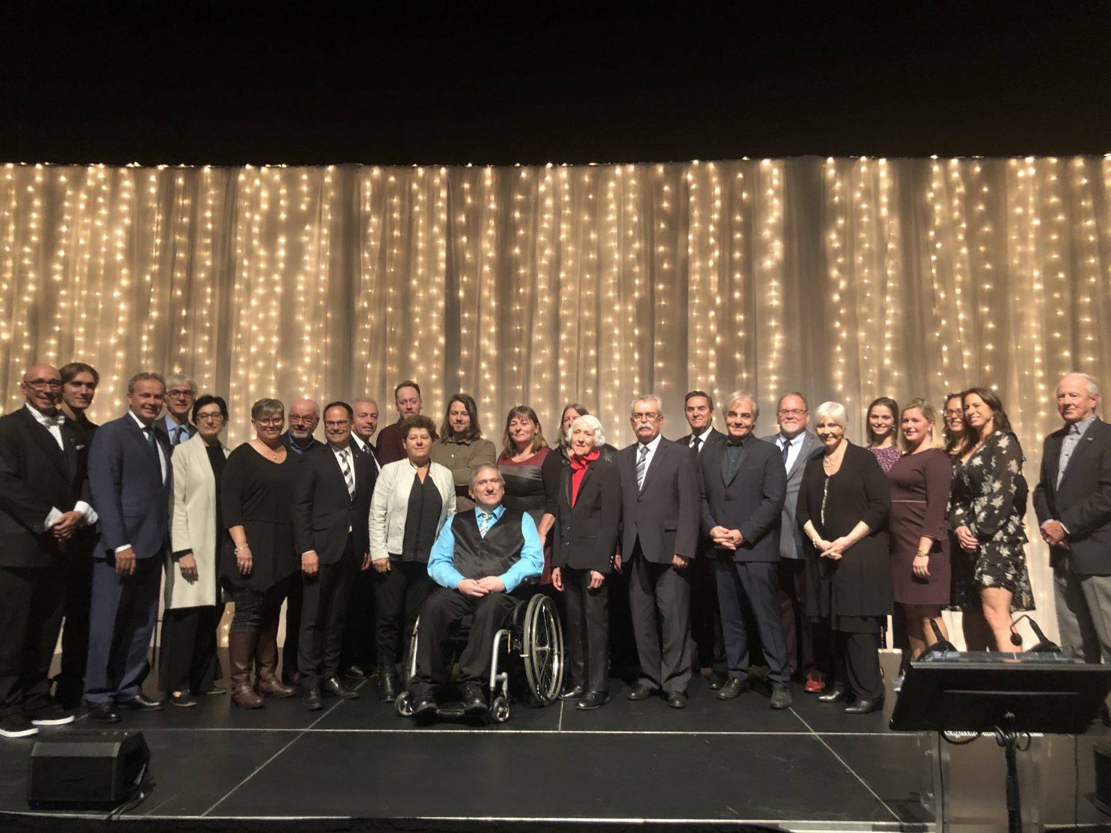 Des citoyens honorés de l'Ordre de Drummondville