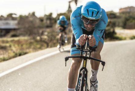 Hugo Houle l'échappe belle au Tour de Pologne