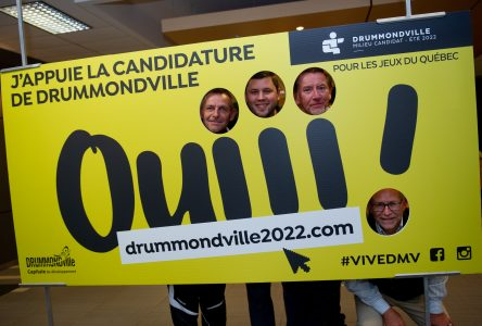 Plus de 10600 appuis pour la candidature de Drummondville 2022