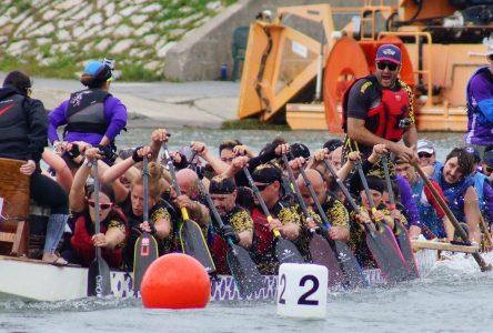 Des émotions fortes à la coupe du Québec de bateau-dragon