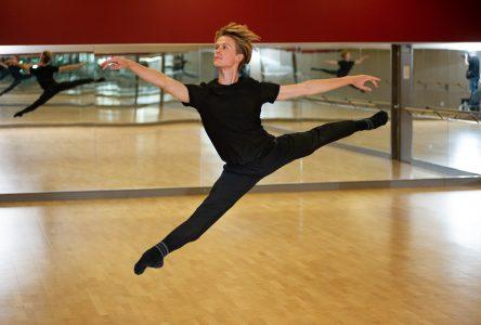 Le visage masculin du ballet