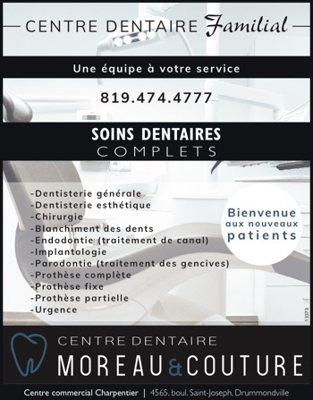 Soins dentaires complets