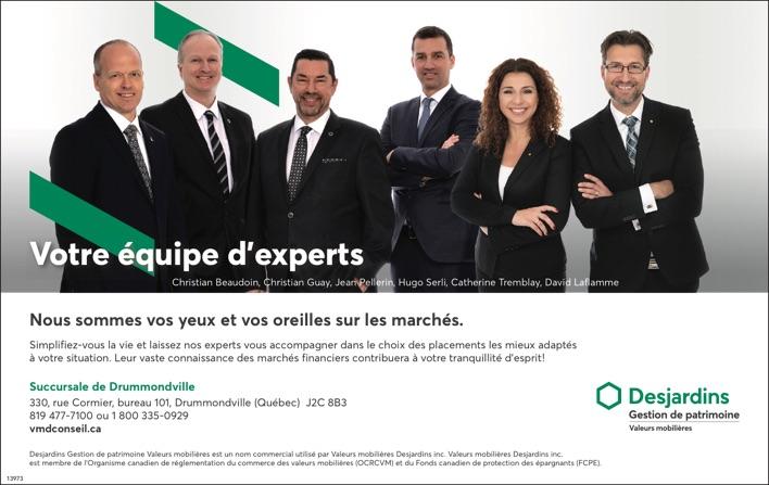 Logo de Votre équipe d'experts