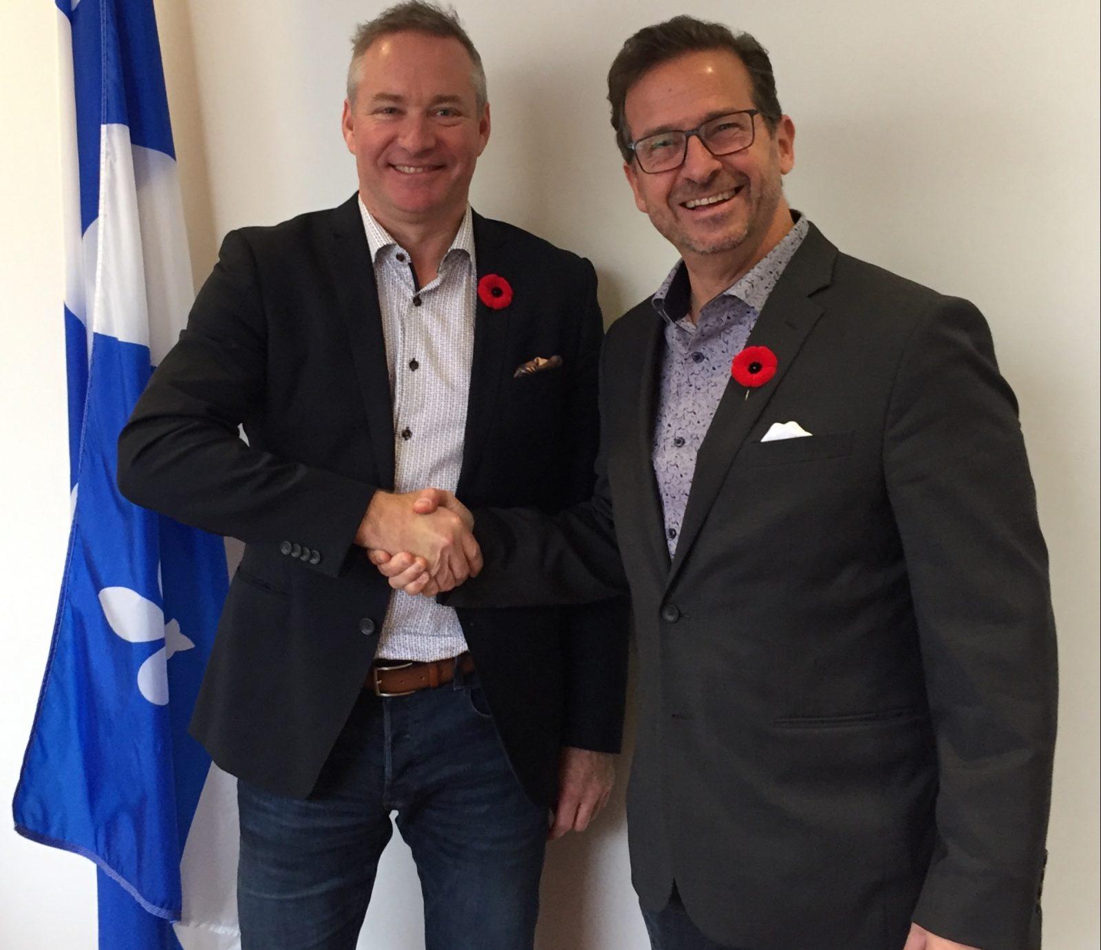 Martin Champoux nommé porte-parole en matière de communications