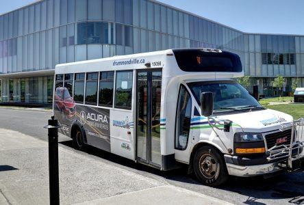 Conflit de travail: Drummondville met en place un système de transport en commun