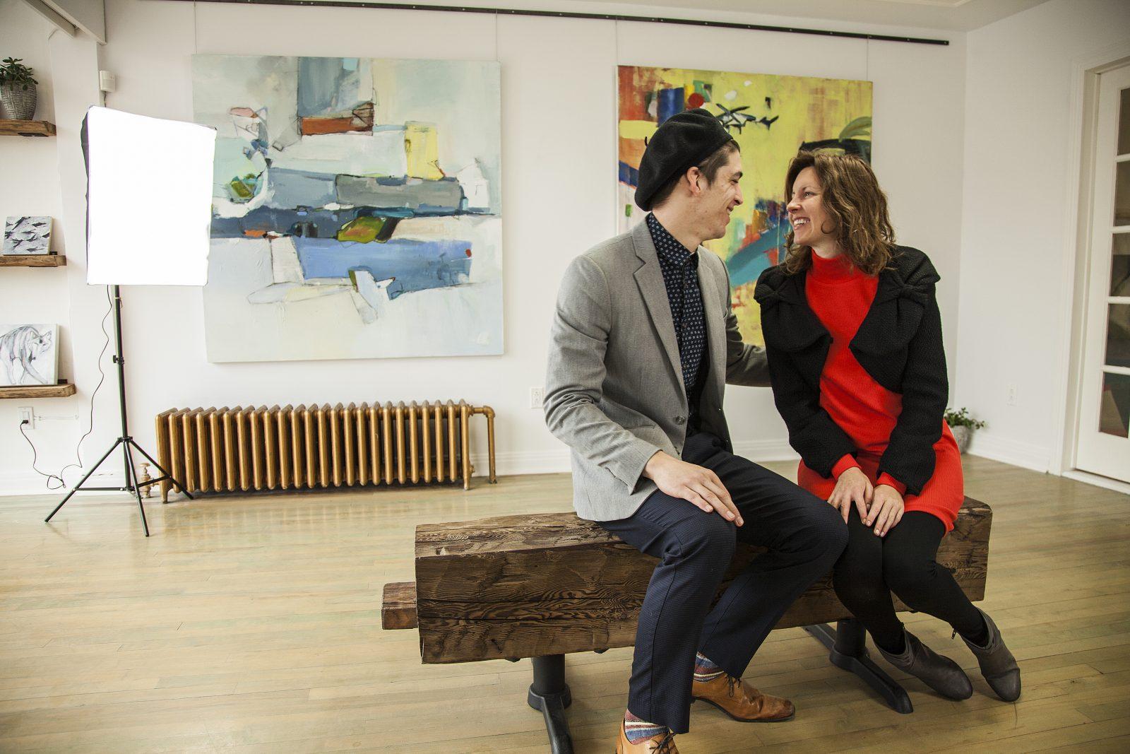 Une nouvelle galerie d'art ouvre ses portes