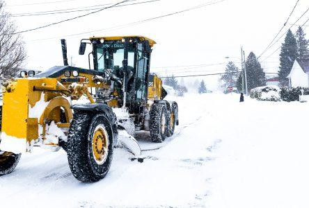 La Ville est prête pour la tempête de neige hâtive