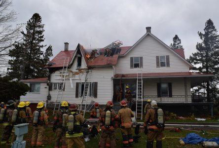 Incendie dans une résidence du boulevard Lemire