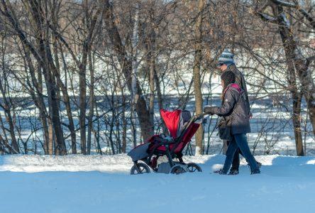 La promenade Rivia accessible tout l'hiver