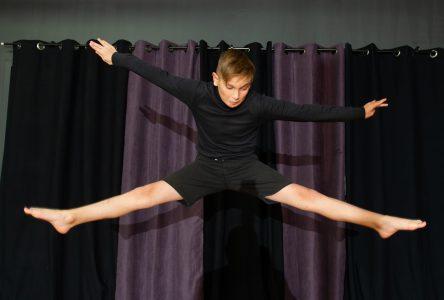 Nicolas Collin danse sans barrières