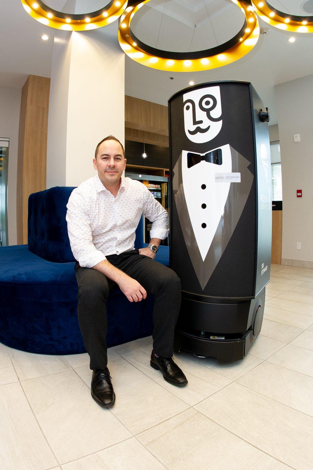 Sir Steward : le robot qui va de l'avant