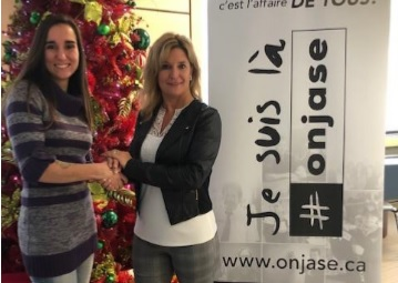Le CEPS et le Drummondville Olympique ensemble pour la prévention du suicide