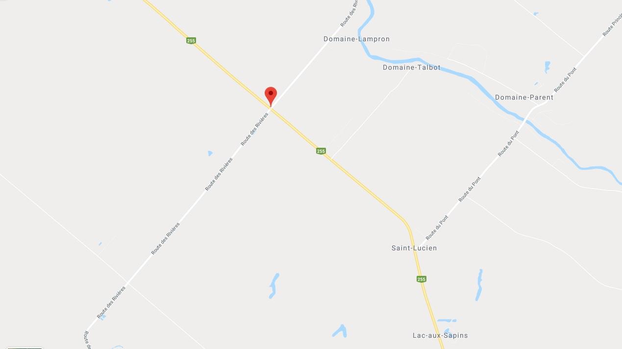 Étude de vitesse sur la route des Rivières à Saint-Lucien