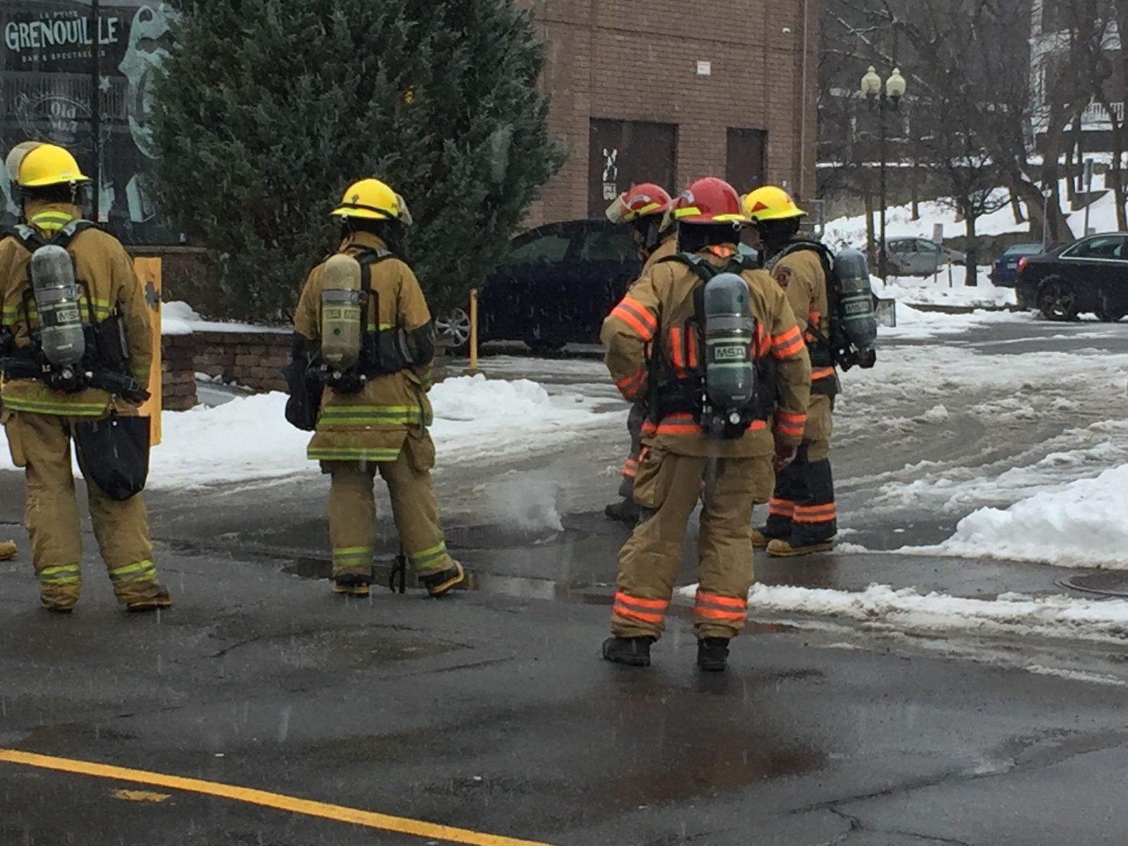Un début d'incendie se déclare dans le sous-sol de la rue Cockburn