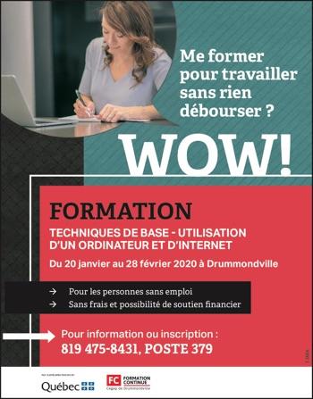 Formation – Utilisation Ordinateur et Internet
