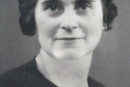 Marguerite Courchesne : l'assurance d'une femme forte en temps de guerre