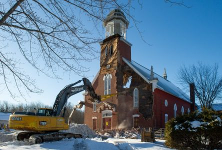 Saint-Edmond-de-Grantham : la démolition de l'église, «l'événement» marquant de 2019