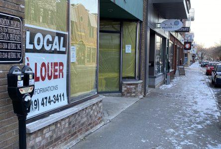 Peu de locaux vacants au centre-ville de Drummondville