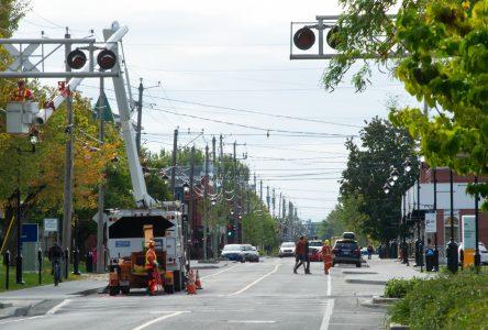 Rue Lindsay: les travaux finalisés en avril 2020